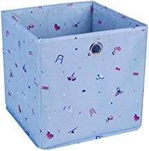 Sentovac Fold-able Storage Box Drawer Closet Organizer Cube Basket Bins Containers Storage Bins for Nursery,Offices,Home Cube Basket Bin Shelf Cabinet Bookcase Boxes