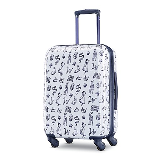American Tourister Disney Hardside Luggage with Spinner Wheels, Snow White American Tourister Mesh Carry On