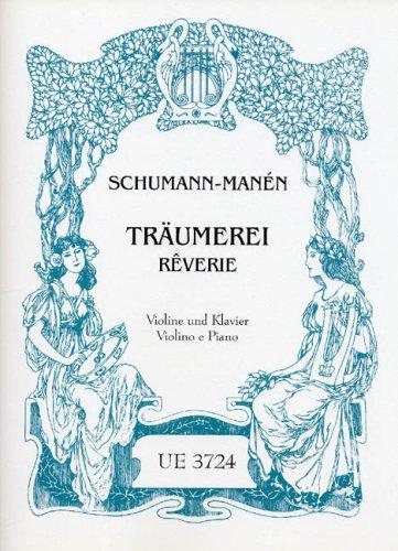 Traeumerei (Reverie). Violine, Klavier