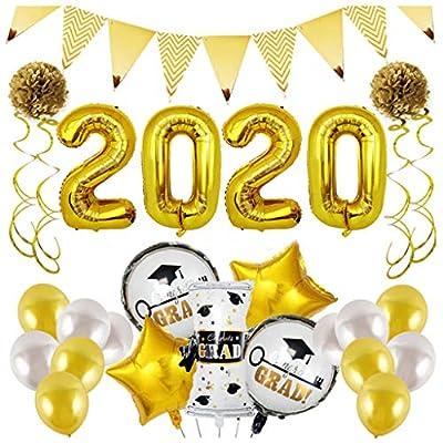 MODAO Graduation Decorations 2020 Balloons Prop...