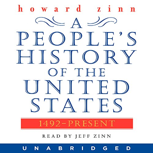 A People's History of the United States audiobook cover art