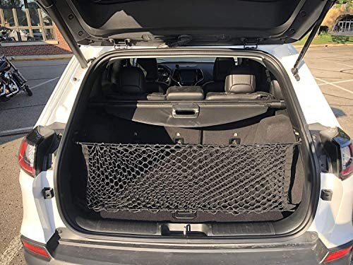 Envelope Style Trunk Cargo Net For JEEP CHEROKEE 2019 2020