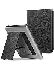 FINTIE Etui stojące do Pocketbook Touch HD 3/Touch Lux 4/Basic Lux 2 E-Reader - Premium skóra PU ochronny pokrowiec na rękaw z gniazdem na karty, paskiem na rękę i funkcją automatycznego uśpienia/budzenia, czarny