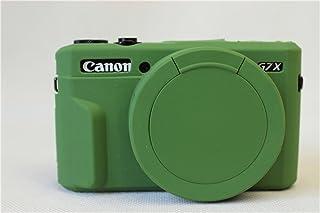 Zakao - Funda para cámara Canon PowerShot G7X G7 X Mark II (silicona ligera delgada goma) color negro