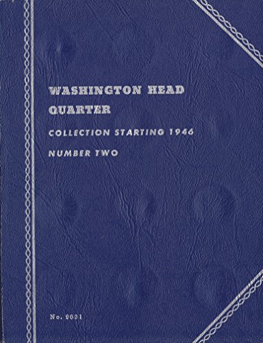1946-DATE 1949 WASHINGTON HEAD QUARTER Whitman No 9031 37 coins COIN; ALBUM, BINDER, BOARD, BOOK, CARD, COLLECTION…