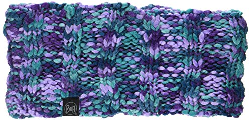 Buff Knitted et Polar Head Band Livy écharpe, Turquoise, One Size
