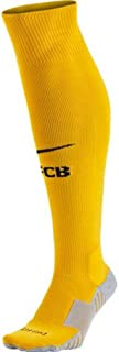 Nike 2015/16 Adult FC Barcelona Goalkeeper Stadium Sock [University Gold]