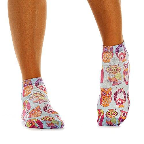 Wigglesteps Damen - Sneaker-Socken - 079 Pink Owl (1006-01168-502)
