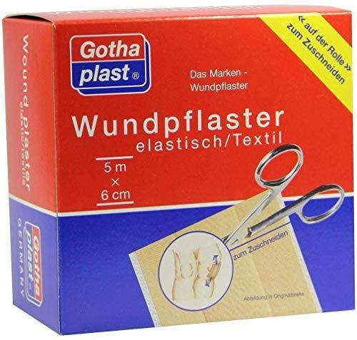 Gothaplast 1 Wundpflaster Elastisch 5 M X 6 cm Rolle