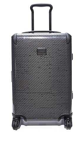 Tumi Women's International Carry On Suitcase, Black Graphite, One Size