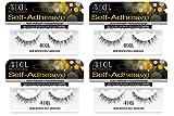 Ardell False Eyelashes Self-Adhesive Demi Wispies 4 pack