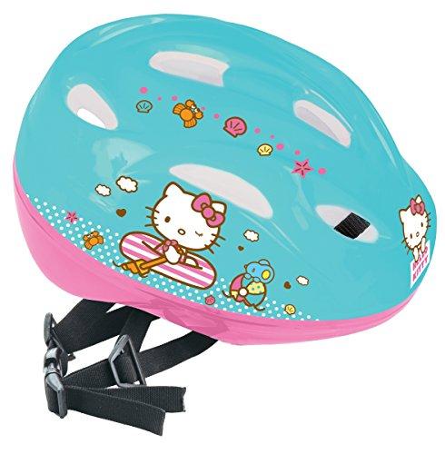 Hello Kitty - Casco deportivo,color azul (turquesa), (Mondo 28104)