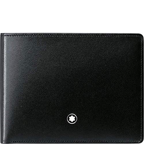 Montblanc Brieftasche 6cc, schwarz