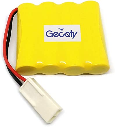Gecoty Rechargeable 4.8V 500mAh Ni-cd AA Battery Pack with EL 2P Plug for