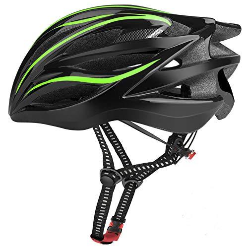 Six Foxes Fahrradhelm 2019 Specialized Damen Herren Fahrrad Helm, 52-58 cm (Gelbgrün)