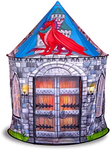 Dragon and Knight Castle Play Tent Playhouse for Indoor and Outdoor Fun Imaginative Games Gift product image