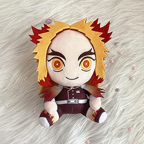 Anime Demon Slayer: Kimetsu No Yaiba Llush Doll Toy Kamado Tanjirou Nezuko Rengoku Kyoujurou Lindo suave relleno para niños regalo