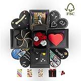 DYNOVIBE ® Kreative Geschenkbox – Überraschung Box, Explosionsbox, DIY Geschenk – besondere...