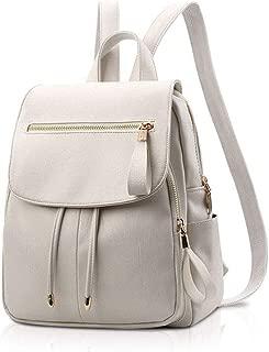 XHHWZB Children's Backpack Student New Women's Backpack Female Bag Korean Version of The Wild Soft Leather Backpack Travel Bag