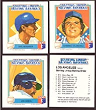 1988 Starting Lineup Talking Baseball LOS ANGELES DODGERS Team Set