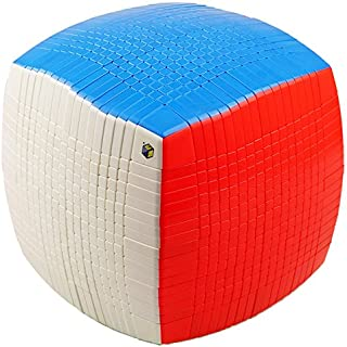 CuberSpeed YuXin HuangLong 17x17x17 Stickerless Magic Cube 17x17 Cube