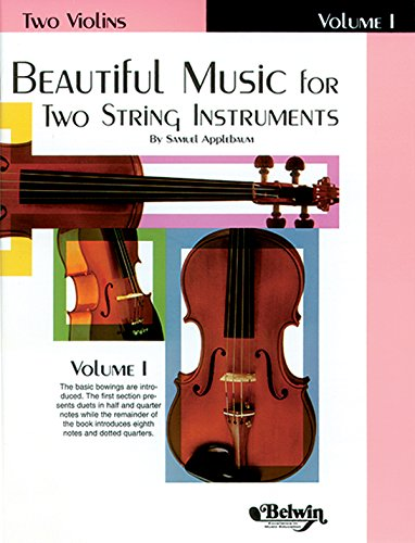 Beautiful Music for Two String Instruments, Bk 1: 2 Violins