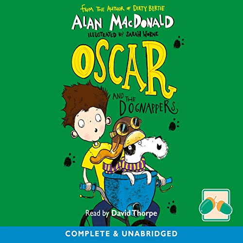 Oscar and the Dognappers audiobook cover art
