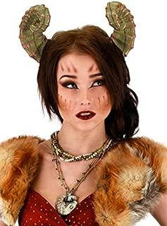 elope Dragon Costume Horn Headband, Green for Adults & Kids