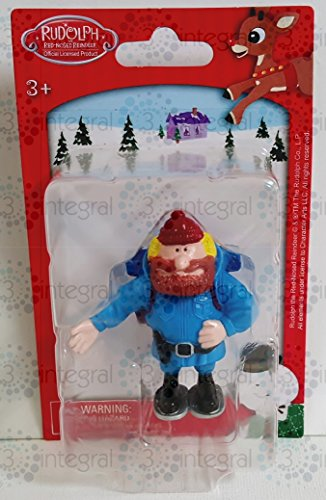 Rudolph The Red-Noise Reindeer Yukon Cornelius Christmas Figurine 2.5 Inches tall