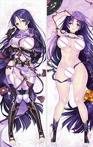 FateGrand Order FGO Minamoto no Raikou 160cm(62.9in) 2 Way Tricot Pillowcase Body pillowcovers Japanese Hugging Fans Gift Throw Pillow Cover