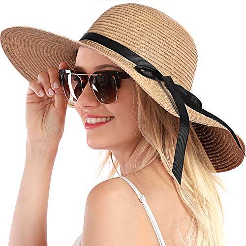 Pink Generic Summer Travel Sun Hat Mixing Straw Hat Beach Sun Hats for Children