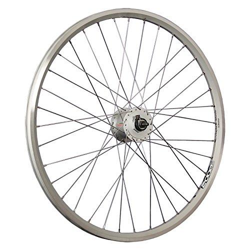Taylor-Wheels 26 Zoll Vorderrad ZAC2000 / Nabendynamo DH-C3000 - Silber
