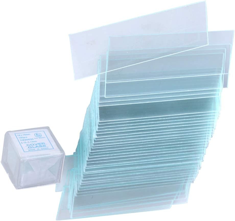 TEHAUX Super Special SALE held Square Microscope Slide Blank Microscop Clear Transparent Safety and trust