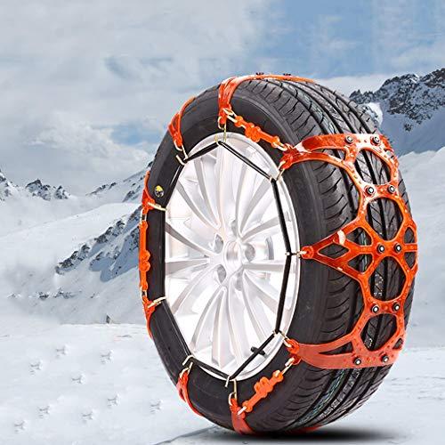 Chaîne Neige Voiture SUV Neige Pneu d'urgence chaînes à Neige Facile à Installer (Taille : 225\60R17)