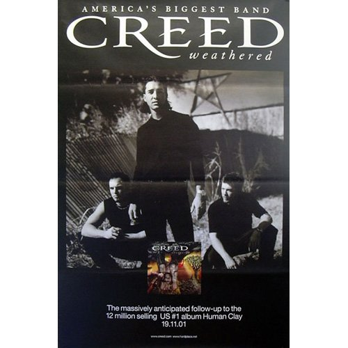 Creed-Weathered, 100 x 150 Cm, Poster Poster