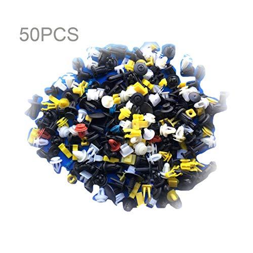 Universal Auto Body Trim Formclips Kunststoff Push Retainer Pin Nietbefestigungen Panel Retainer Clips Sortiment - Mix Farbe