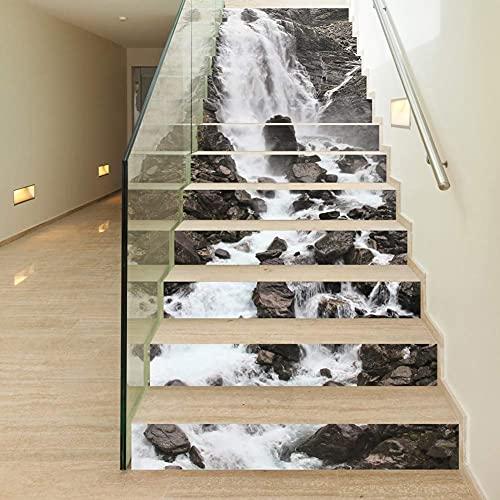 Pegatinas para azulejos: desde pegatinas 3D para escaleras, pegatinas autoadhesivas impermeables para escaleras, pegatinas de vinilo para escaleras DIY, decoración de paredes para el hogar