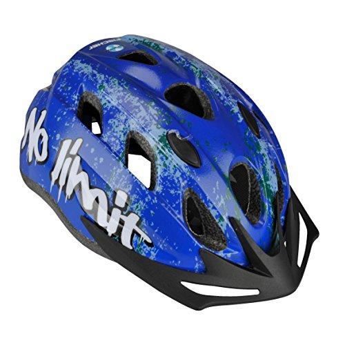 FISCHER Erwachsene Fahrradhelm, Radhelm, Cityhelm, Blau, S/M