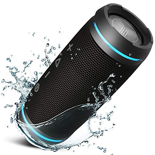 TREBLAB HD77 - Ultra Premium Bluetooth Speaker - Loud 360° HD Surround Sound, Wireless Dual...