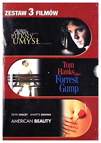 Najlepszy Film Kolekcja Paramount: American Beauty / Forrest Gump / Piękny Umysł [Box] [3DVD] (Keine deutsche Version)