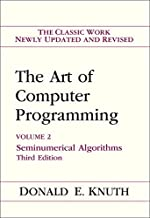 Art of Computer Programming, Volume 2: Seminumerical Algorithms (3rd Edition)