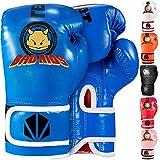 TEKXYZ Guantes De Boxeo para Niños Serie Bad Kids 4 OZ / 6 OZ | TEKXYZ Bad Kids Series Boxing Gloves 4 OZ / 6 OZ