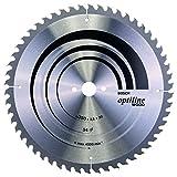 Lame de Scie Circulaire, 54 Dents, 30mm d'Alésage, 3.5mm Largeur de Coupe, 2.5mm Épaisseur du Corps, 350mm Diamètre