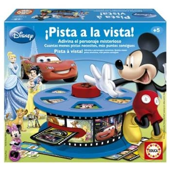 Educa Borrás Pista A La Vista Disney, 33.5 x 29.0 x 9.7 (15380 ...