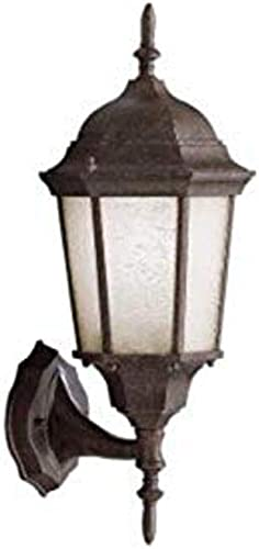"""lowest Madison 19.75"""" popular 1 Light Outdoor Wall Light wholesale with Clear Beveled Glass in Tannery Bronze outlet online sale"""