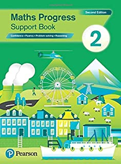 Maths Progress Second Edition Support Book 2: Second Edition
