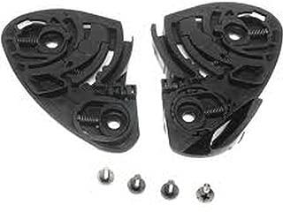 Shoei CW-1 Gear/Ratchet Kit Base Plate Set W/Screws,Black,X-Twelve(X12)/RF-1100 Qwest