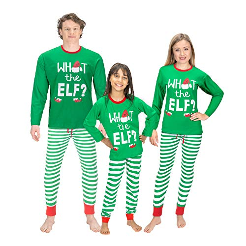 Christmas Family Matching Pajama Sets (ELF, Medium/Men)