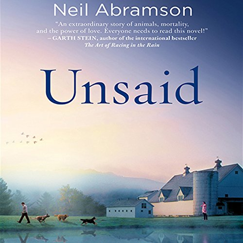 Unsaid audiobook cover art