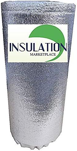 "5W WHITE Reflective Insulation roll Foam Core Radiant Barrier 5MM 16/"" x 25/'"